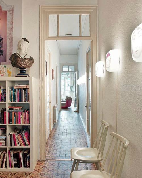 Astuce Pas Cher Decoration Couloir Long Et Etroit Original