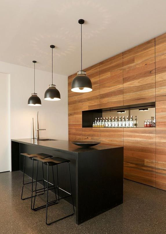 Como integrar una barra de bar en el hogar blog de - Como forrar una barra de bar ...