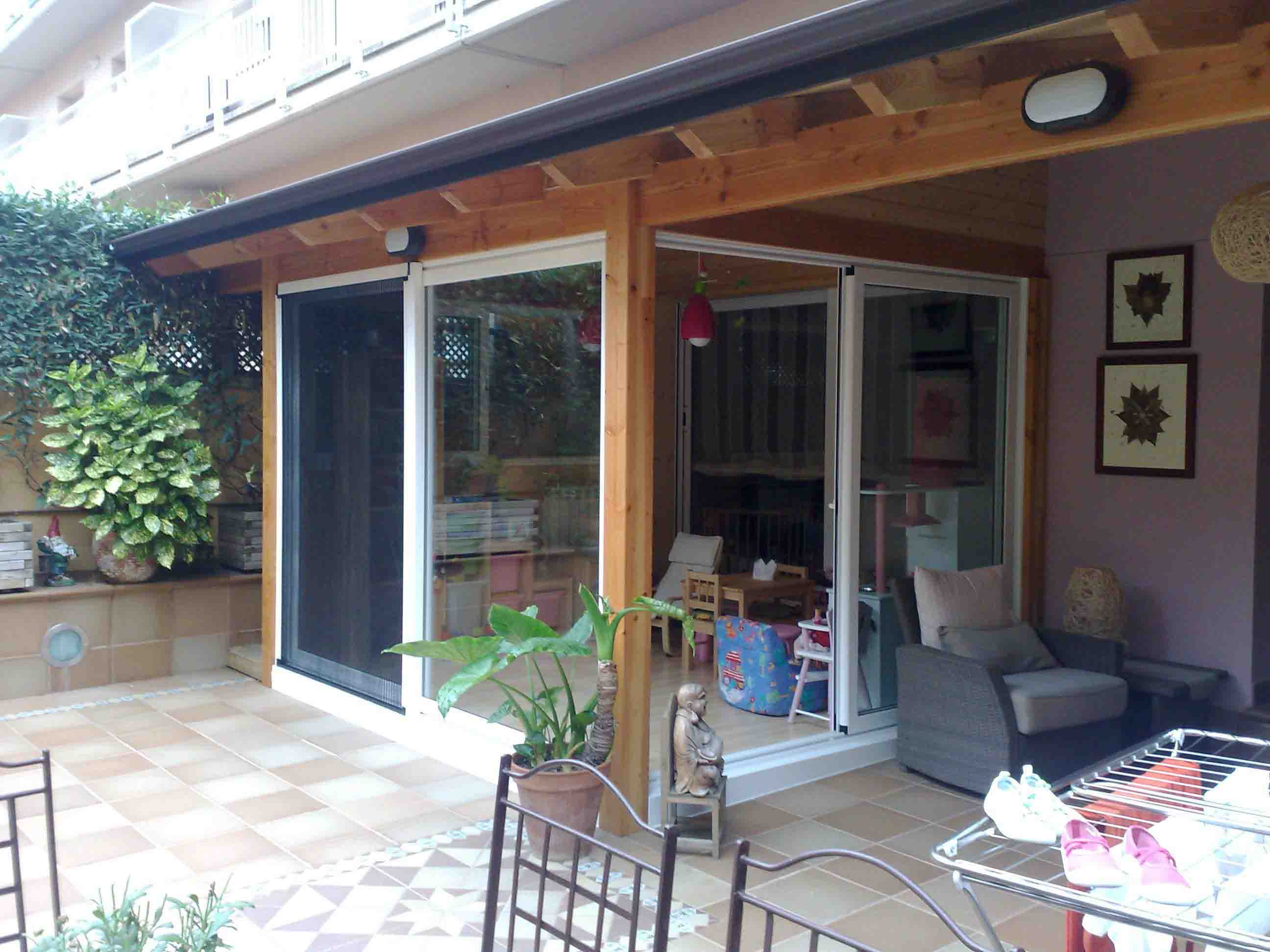 Casas de madera para terrazas affordable casas de madera - Terrazas de madera ...
