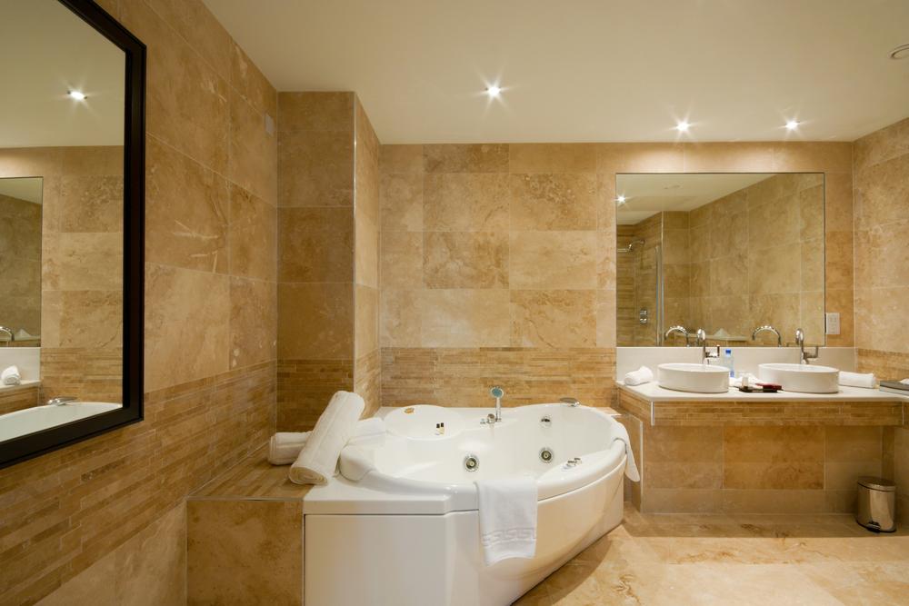 Beautiful Natural Master Bathroom Ideas: Baño Lujoso Con Hidromasaje. Fotos Para Que Te Inspires