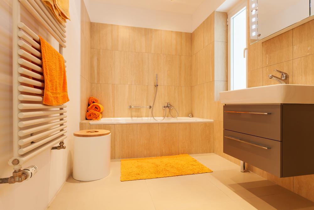 Baños Amarillos Modernos: Colores para pintar baños modernos ...