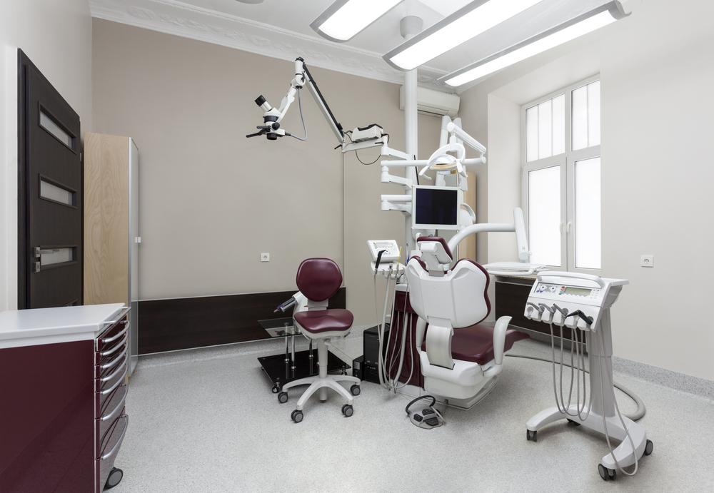 Cl nica dental con mueble y sill n granate fotos para que - Muebles para clinicas dentales ...