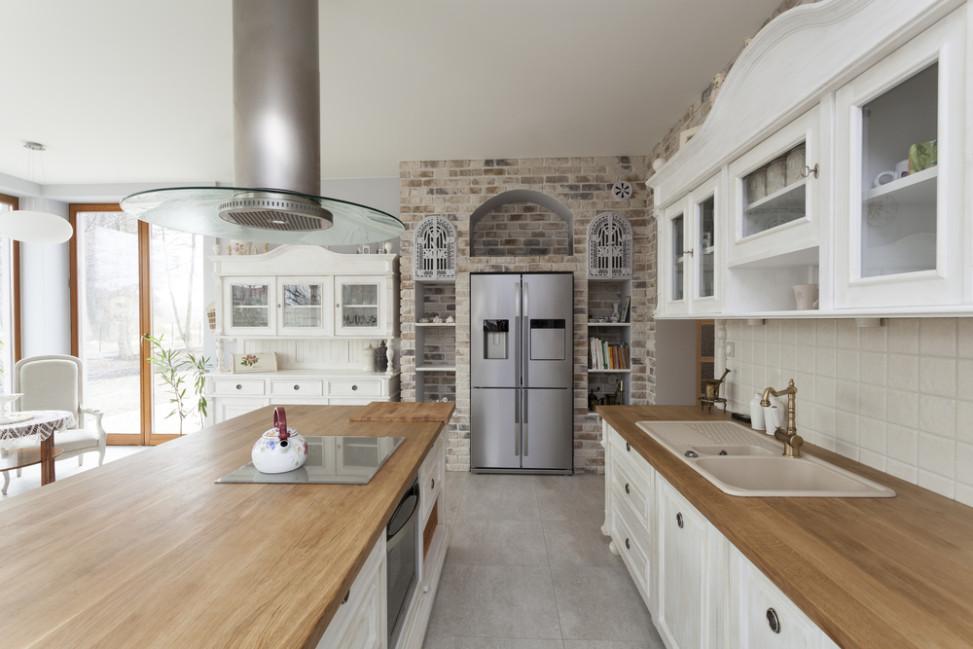 cocina clsica con encimera de madera fotos para que te inspires with cocina clasica