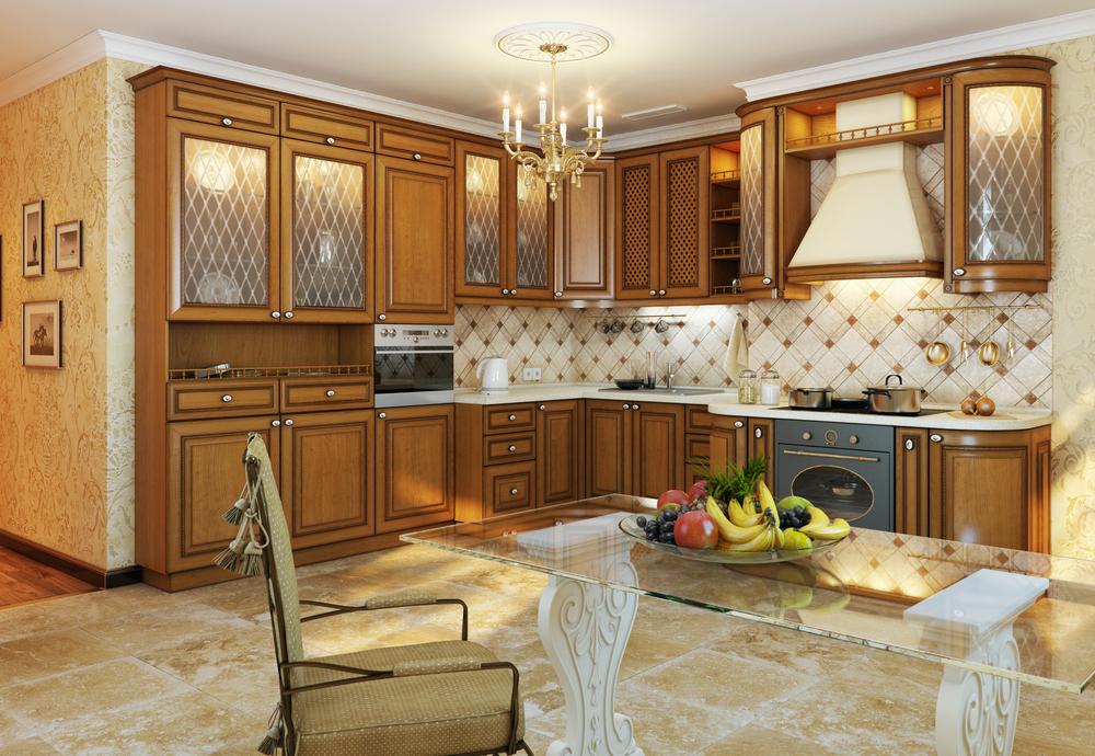 Cocina vintage de madera fotos para que te inspires 3presupuestos - Cocina encimera madera ...