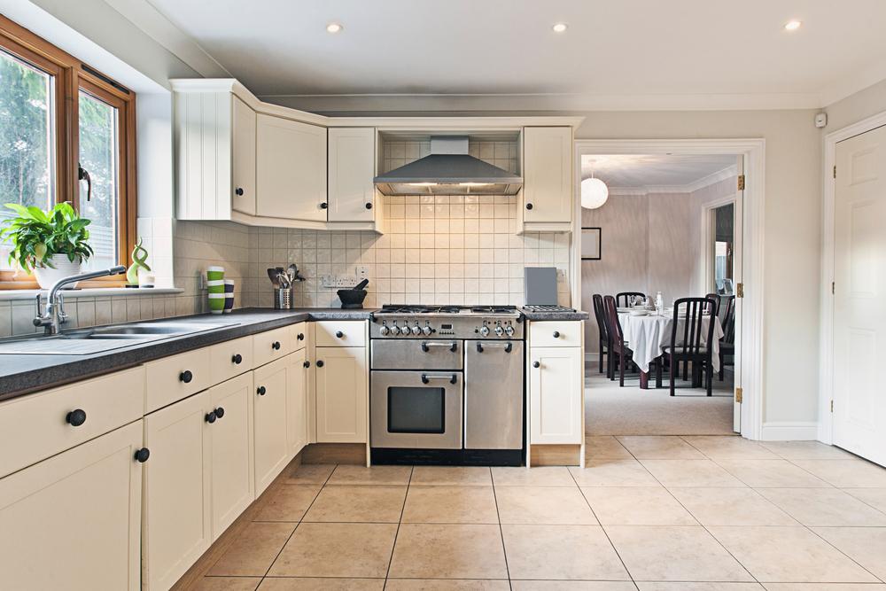 Cocina con encimera de granito gris fotos para que te - Sobre encimera cocina ...