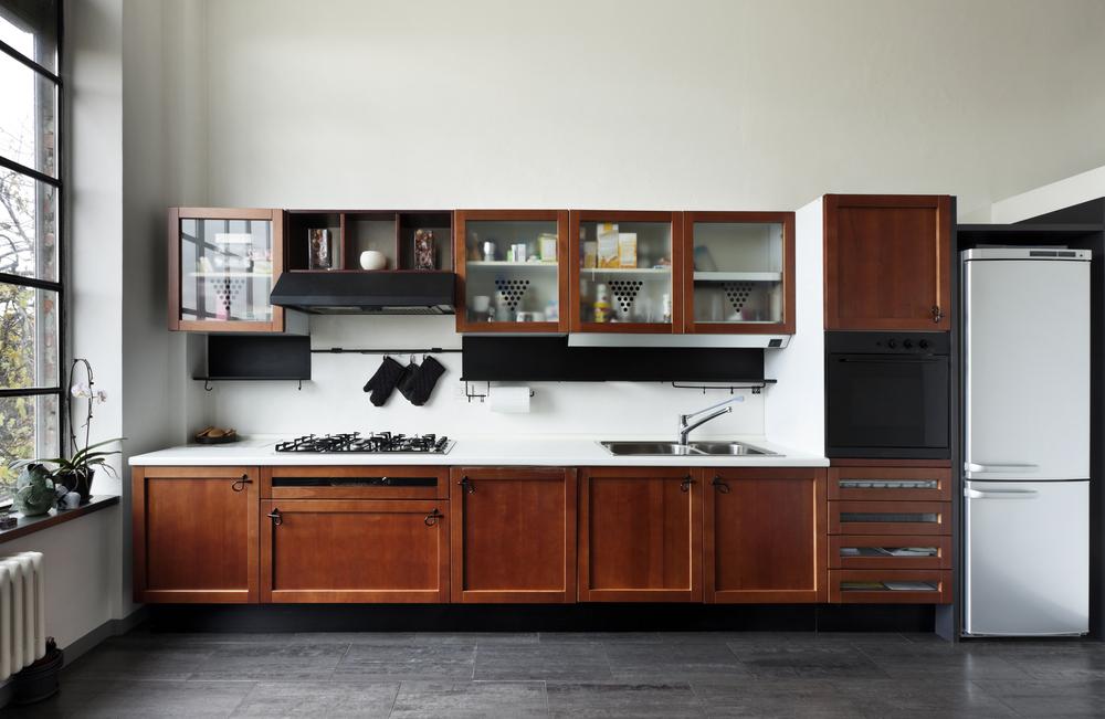 Cocina con suelo de pizarra fotos para que te inspires - Pizarra para cocina ...