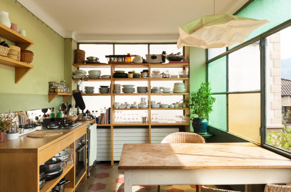 Cocina Moderna De Estilo Vintage Fotos Para Que Te Inspires - Cocina-estilo-vintage