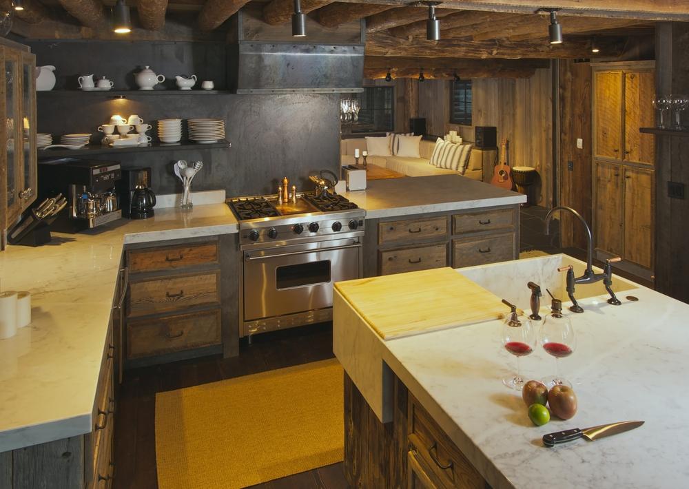 Cocina rústica con isla. Fotos para que te inspires - 3Presupuestos