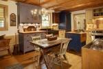 Cocina vintage con madera envejecida