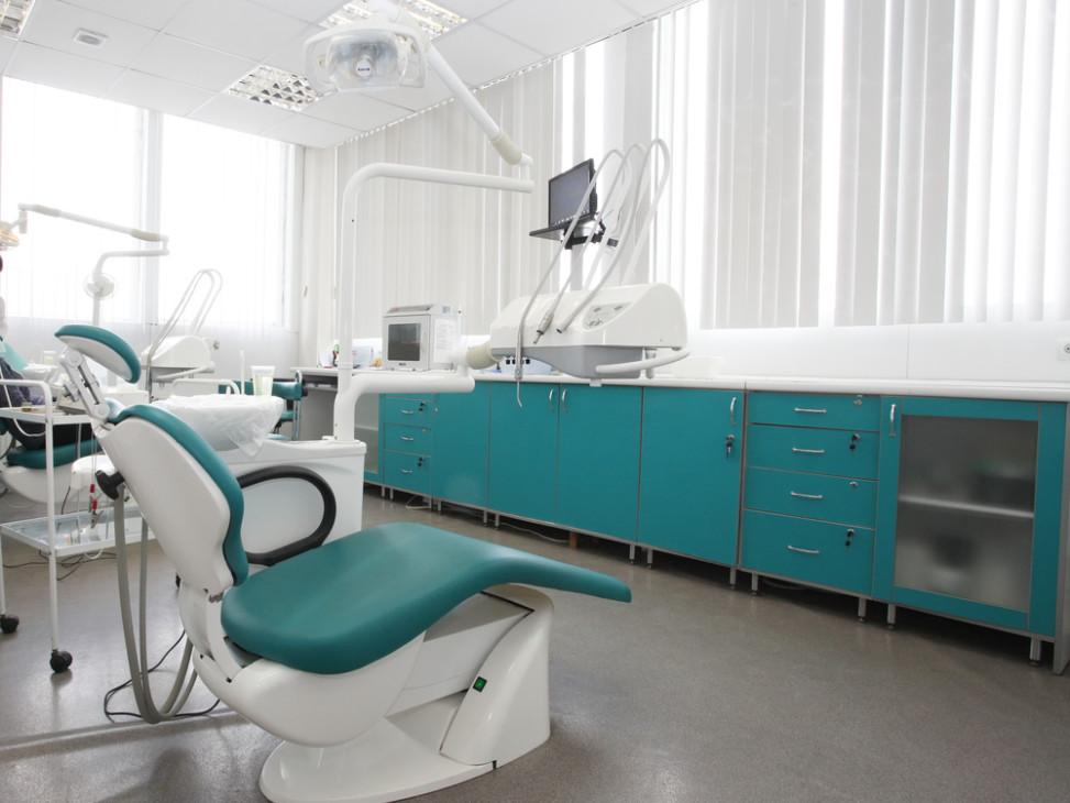 Gabinete dental con muebles turquesa fotos para que te - Muebles para clinicas dentales ...
