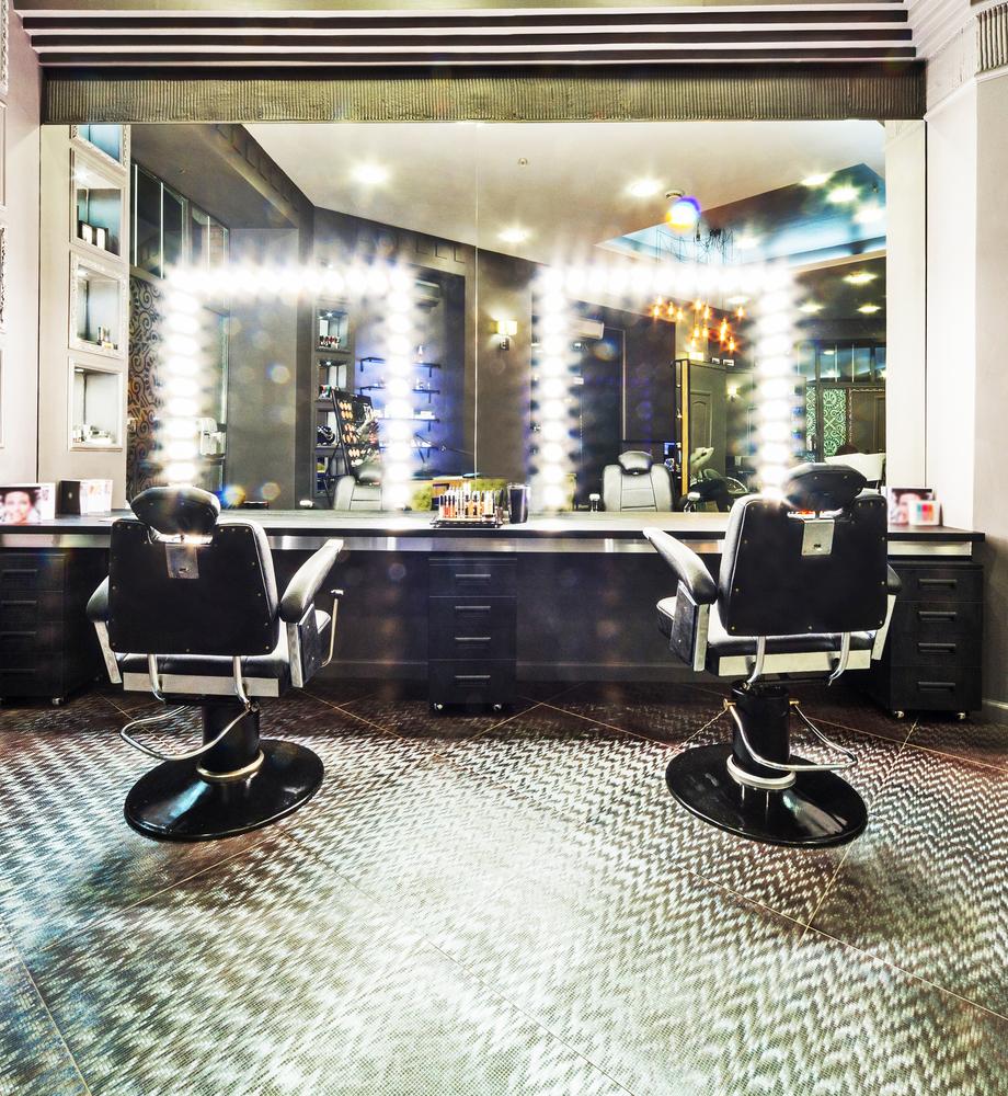 Peluquer a vintage estilo amaricano fotos para que te for Disenos de espejos para peluqueria