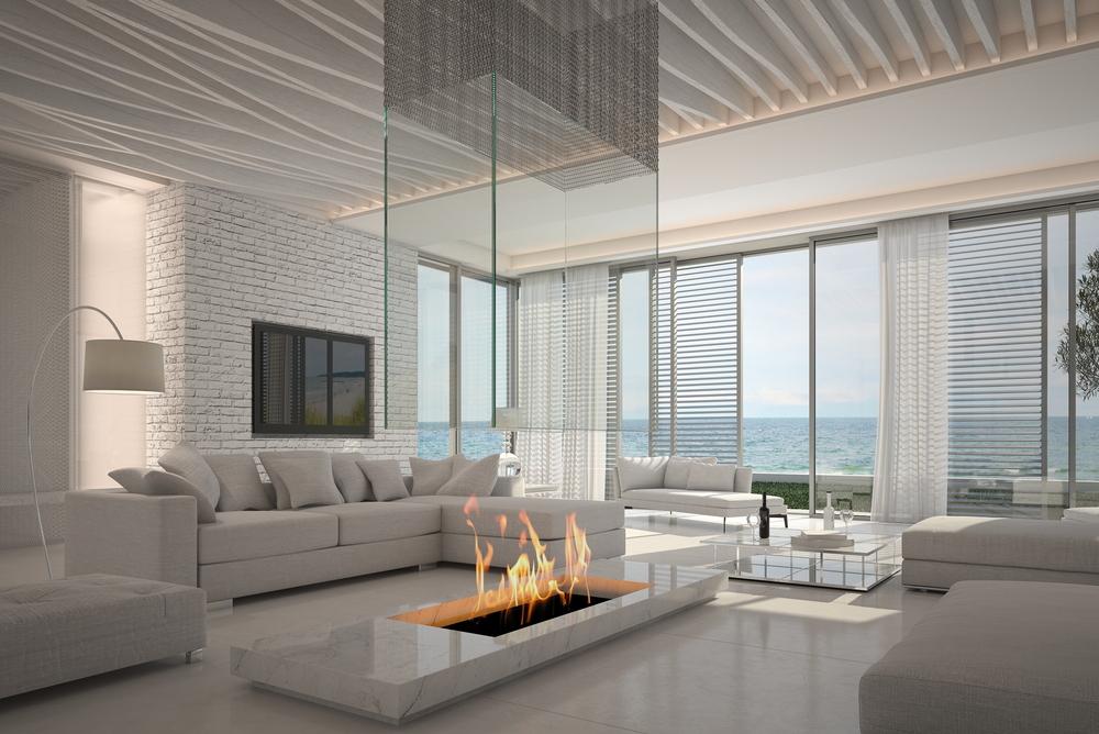 saln moderno costero - Salones Modernos