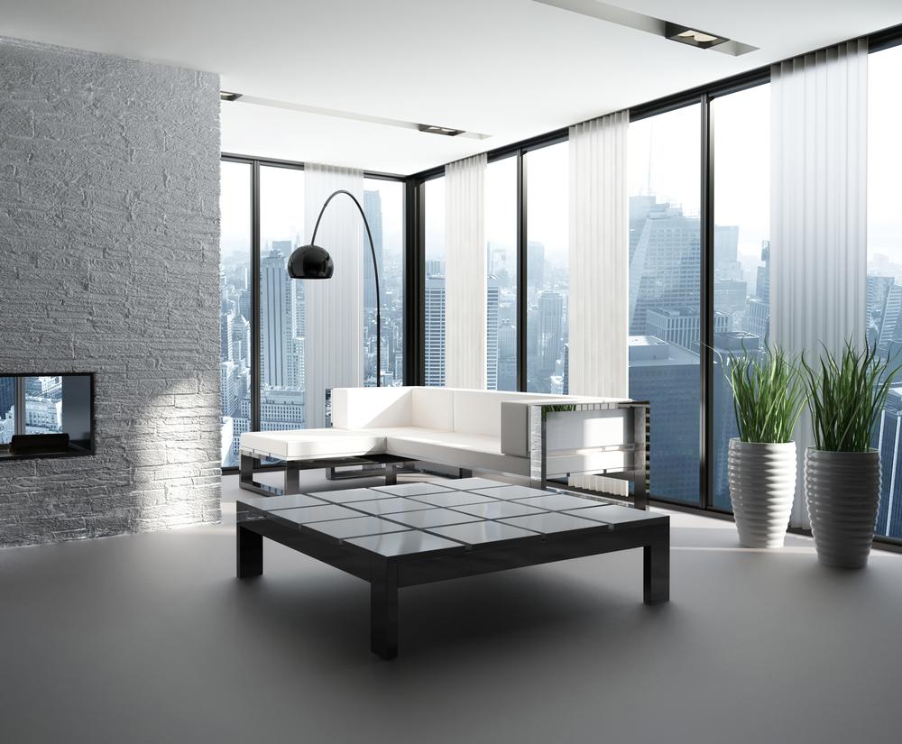 Sal n moderno estilo urbano fotos para que te inspires for Techos salones modernos