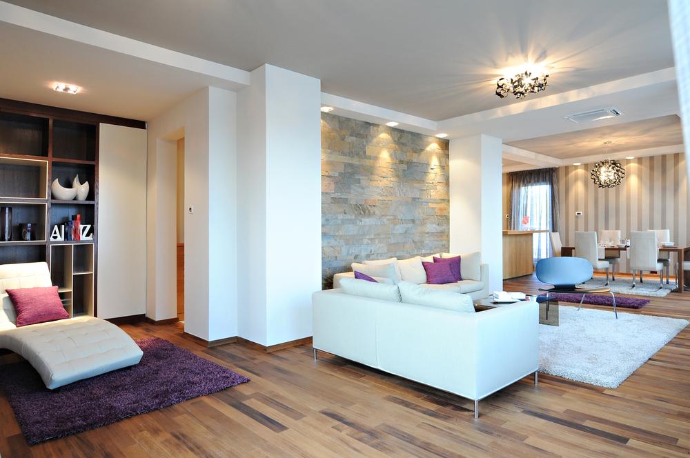 sal n n rdico con parquet claro fotos para que te. Black Bedroom Furniture Sets. Home Design Ideas