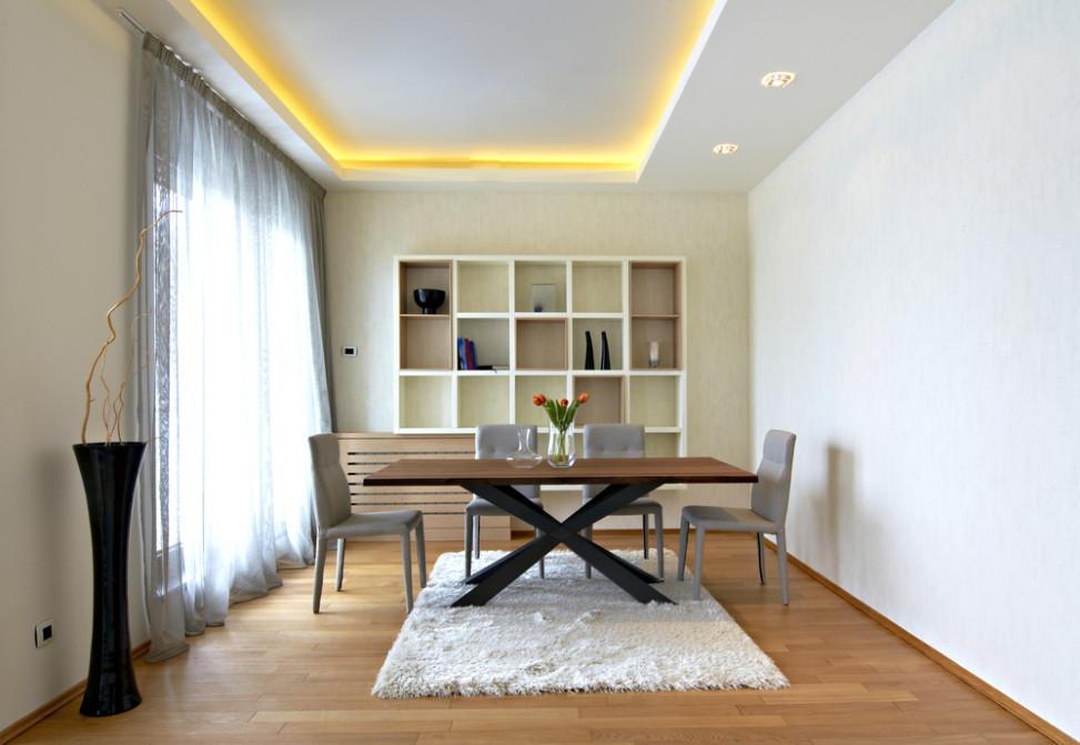 Peque o comedor con iluminaci n indirecta fotos para que - Iluminacion para comedor ...