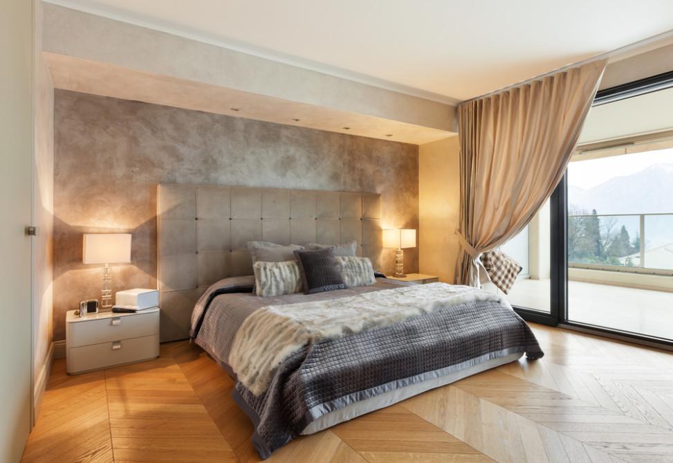 Dormitorio Cl 225 Sico Con Pared Enlucida Fotos Para Que Te
