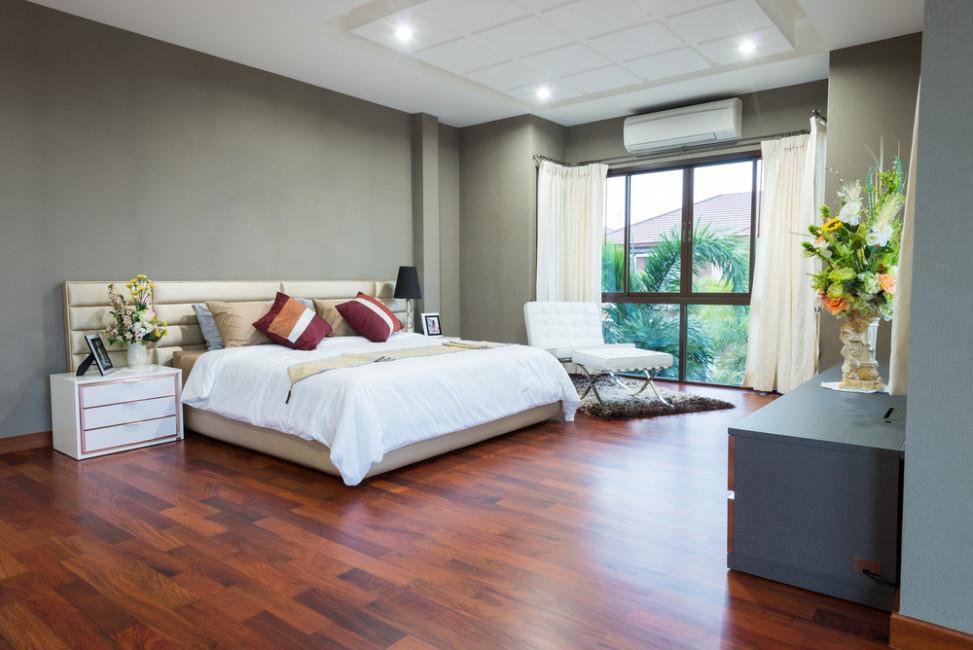 Dormitorio Con Suelo De Parquet Rojizo Fotos Para Que Te Inspires 3presupuestos