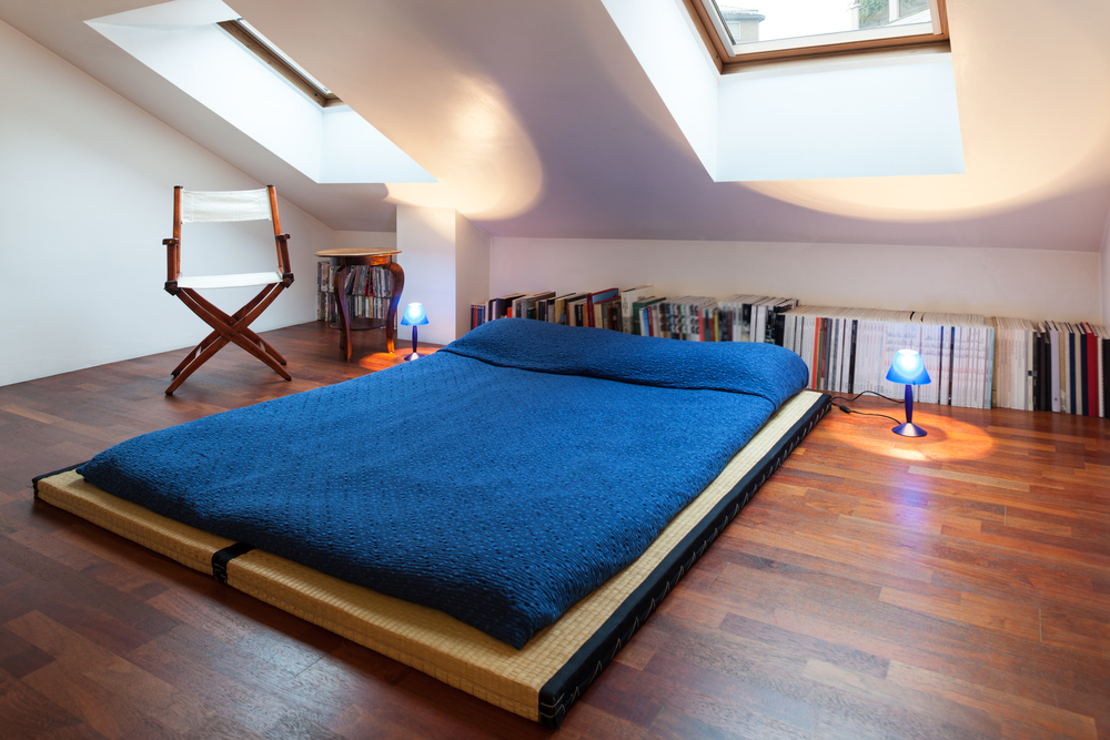 dormitorio estilo japons en buhardilla fotos para que te inspires 3presupuestos - Buhardillas Modernas