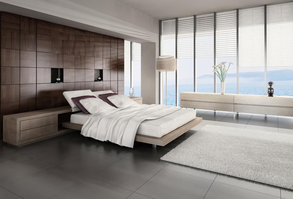 Dormitorio moderno con vistas al mar fotos para que te for Hoteles pequenos modernos