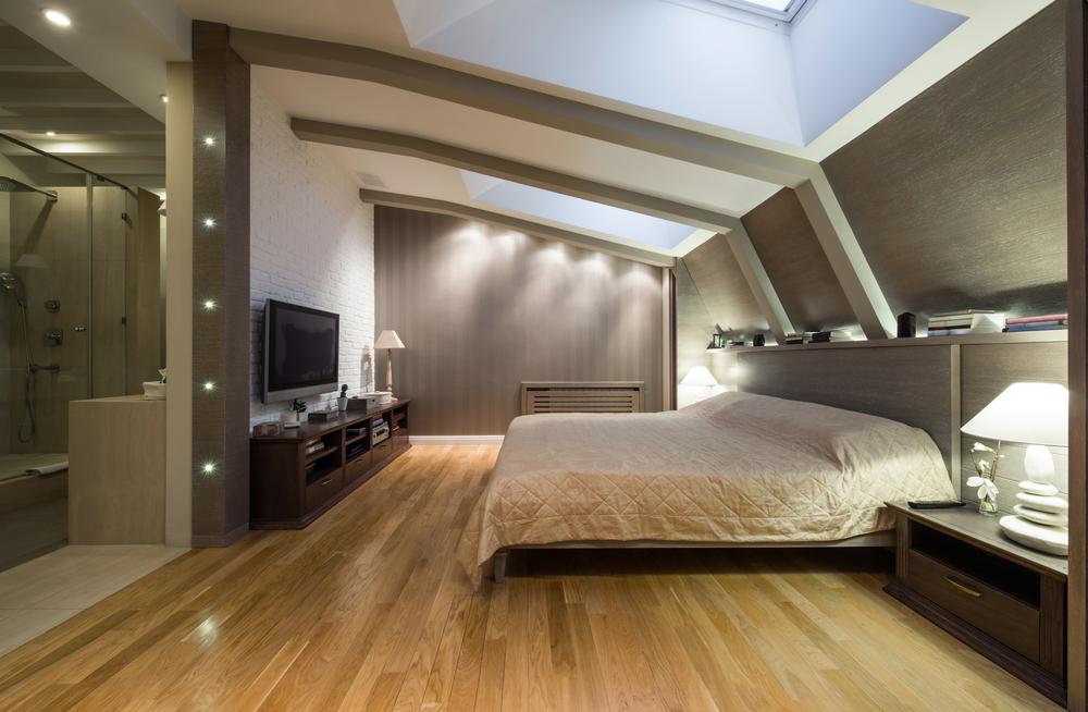 Dormitorio moderno en buhardilla fotos para que te for Decoracion casa jovenes