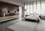 Gran dormitorio de estilo japonés