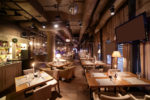 Restaurante ecléctico de inspiración clásica