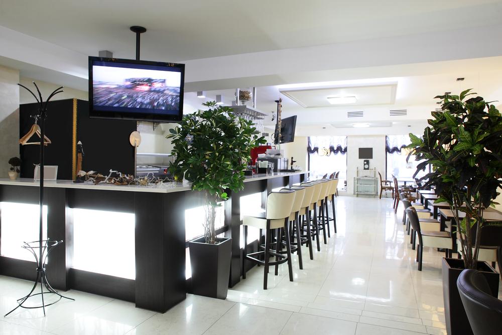 Restaurante Minimalista Con Barra De Luz Fotos Para Que