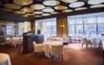 Restaurante moderno con moqueta