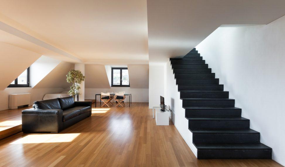 Escalera de obra recta negra fotos para que te inspires 3presupuestos - Escaleras de obra ...