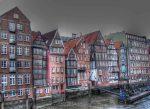 Fachadas nórdicas junto al mar