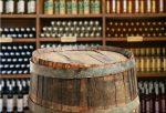 Bodega moderna con barril