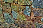 Fachada de piedra natural