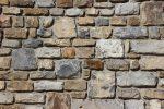 Fachada rústica de piedra